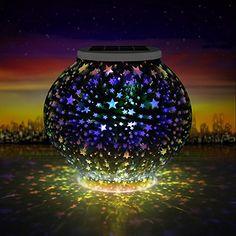 2019 Neuer Stil Solar Powered Mosaik Glas Ball Led Garten Lichter Farbwechsel Tisch Lampen Wasserdichte Outdoor Lichter Weihnachten Home Hof Led-lampen Licht & Beleuchtung