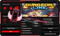 Do you want to get a Dungeon Link Hack Cheats Tool that will realey work for you ? I think that you would say yes! So get it right now from here http://hacktoolheaven.com/dungeon-link-hack-cheat-trick-android-ios-tool-download.html don't miss this great chance guys and generate free gems, gold and more.