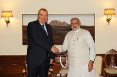 PM with the Russian Minister