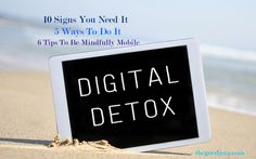 Do you need a digital detox? Switching off all devices, laptops, computers, trackers and internal networks can be mind-boggling as a thought. Our world today is built on connectivity, and to voluntarily unplug goes against the grain. Those that have tried a digital detox reveal how... - Digital Detox: How to Unplug and Reconnect - http://thegoodista.com/?p=2185 ,  #Communication #Connectivity #DigitalDetox #NetAddiction #Stress