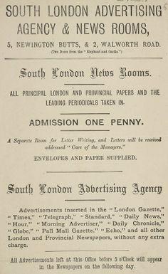 South London, agencia de publicidad inglesa, allá por 1890  http://www.lahistoriadelapublicidad.com/blog-1567/south-london-agencia-de-publicidad-inglesa-alla-por-1890