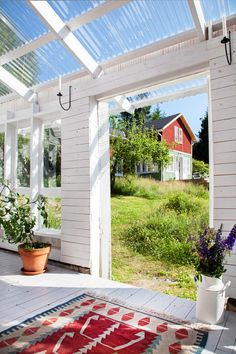Pergola Bois Plantes Grimpantes - How To Build A Pergola Attached To House Patio - Side Yard, Diy Pergola, Outdoor Rooms, Outdoor Decor, Exterior, Outdoor Spaces, Back Gardens, Pergola Attached To House, Home And Garden