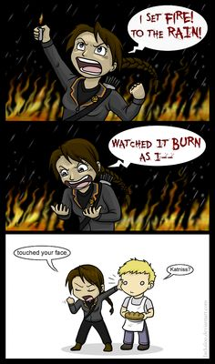 Katniss likes Adele by *Jackaloo on deviantART