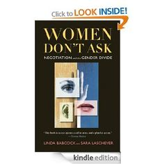 Eye opening book about women's reluctance to negotiate and how this tendency holds women back.