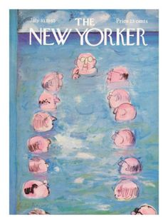 The New Yorker Cover - July 10, 1965