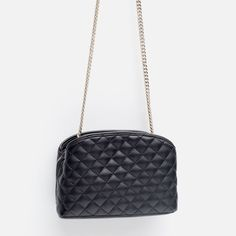 MINI QUILTED MESSENGER BAG-View all-Bags-WOMAN | ZARA United States
