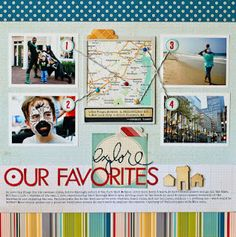 Nancy Damiano  A great way to showcase the places you've been.