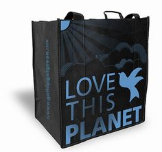 Save the planet, one #reusablebag at a time! #gogreen #savetheearth