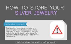 HOW TO STORE SILVER JEWELRY