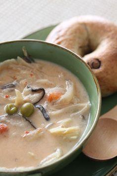 坦々野菜がっつりスープ