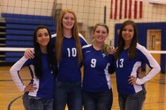 2015 Cole Valley Christian Volleyball Senior night preview video