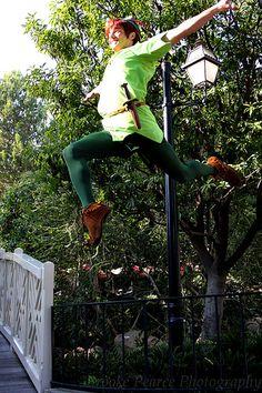 Peter Pan Flying!!!