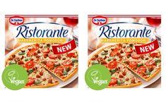 Dr. Oetker releases first vegan Ristorante frozen pizza in UK - FoodBev Media