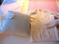 Pillow Sweater Covers