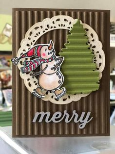 Spirited Snowmen Stampin Up
