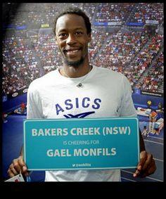 #Monfils for Australian Open