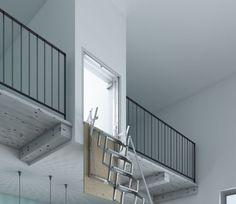 Qué son la escaleras escamoteables: todo ventajas Cardboard Furniture, Stairs, Home Decor, Stuff Stuff, Sleeping Loft, News, Interiors, Home, Stairway