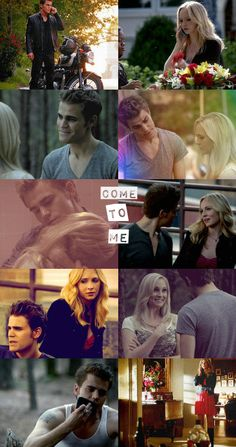 Stefan Salvatore and Caroline Forbes - The Vampire Diaries Vampire Shows, Vampire Love, The Vampire Diaries 3, Vampire Diaries Quotes, Vampire Diaries The Originals, Stefan E Caroline, Caroline Forbes, Bonnie Enzo, The Salvatore Brothers