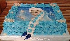 Frozen Birthday Party, 3rd Birthday Parties, Birthday Ideas, Disney Frozen Cake, Girl Cartoon Characters, Character Cakes, Baileys, Facebook, Disney Princess