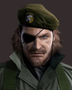 the legend him self #MetalGearSolid #mgs #MGSV #MetalGear #Konami #cosplay #PS4 #game #MGSVTPP