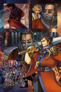 Final Fantasy wallpapers~ Auron by Emeraldfire131 on deviantART