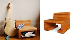 Station One Chair & Guitar by make believe company — Children's Furniture -- Better Living Through Design