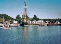 Special places in the USA - Mystic ,  CT