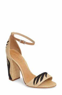 798af25ec0fec0 Schutz Carolaine Woven Sandal (Women) Flat Sandals