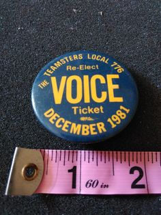 Workers Union, Ticket, The Voice, December, Etsy, Products, Gadget