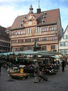 Rathaus, Tuebingen, Germany ... I did a semester here! Loved it!