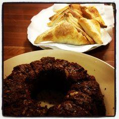 Empanadas for father in law requested.. Cocoa cake for mother in law requested..