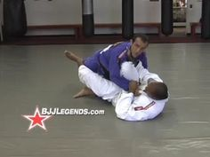 BJJLegends.com Technique, Counter to Scissor Sweep #1 - Marcelo Cavalcanti