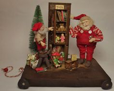 Kim's Klaus~Ooak Handmade Santa Claus~Elf ~Dolls~Antique Vintage Christmas~Toys #KimsKlaus
