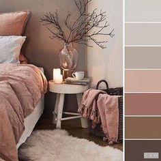 room decor Bedroom colors - 5 Master Bedroom Essentials to Create Your Ultimate Retreat Attic Master Bedroom, Home Bedroom, Taupe Bedroom, Brown Bedroom Walls, Brown Walls, Dusty Pink Bedroom, Pink And Beige Bedroom, White And Brown Bedroom, Beige Bedrooms