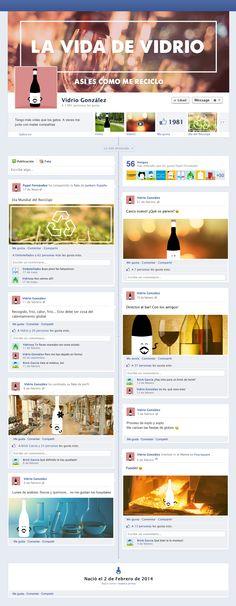 """La vida de vidrio """"Así es como me reciclo"""", un  interesante y curioso perfil de Facebook que no te dejará indiferente :)"""