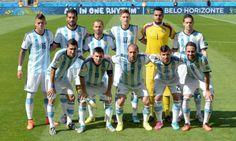 Selección nacional de Argentina en Brasil 2014