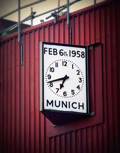 Munich clock. Manchester United. #mufc