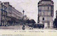 Plaza de Mina y Juana de Vega. La Coruña