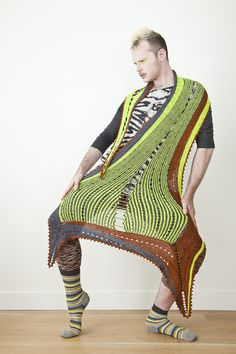 So inspired to knit this after hearing his interview on Shinybees podcast   Westknits, Stephen West ☼