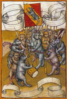 Diebold Schilling the Younger - Spiezer Chronik (15th century)