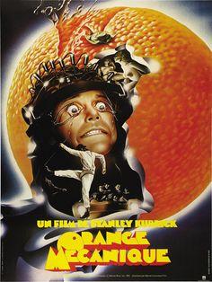 A Clockwork Orange (French) 11x17 Movie Poster (1972)