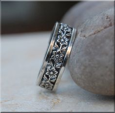 Hey, I found this really awesome Etsy listing at https://www.etsy.com/listing/210370256/pansy-stacking-ring-sterling-silver