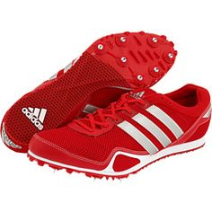 Red Adidas running shoes (arriba 2)