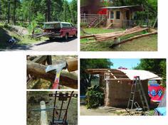 Building a cob chicken coop