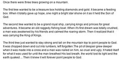 The 3 trees story