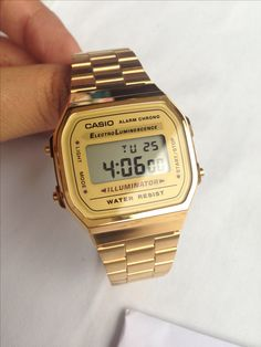 Casio watch gold http://neonwatch.tumblr.com/post/101744918811/great-deal-on-the-vaporware-golden-casio-at