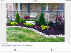 47 Cheap Landscaping Ideas For Front Yard | gardens | Pinterest ...