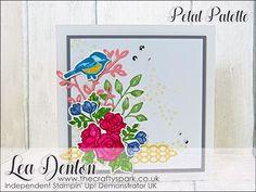 Pretty Pastel Petal Palette Card Stampin' Up!