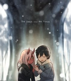 Zero Two & Hiro | The Beast and the Prince - Darling in the FranXX #anime #franxx