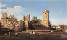 79 Warwick Castle: the East Front - Canaletto